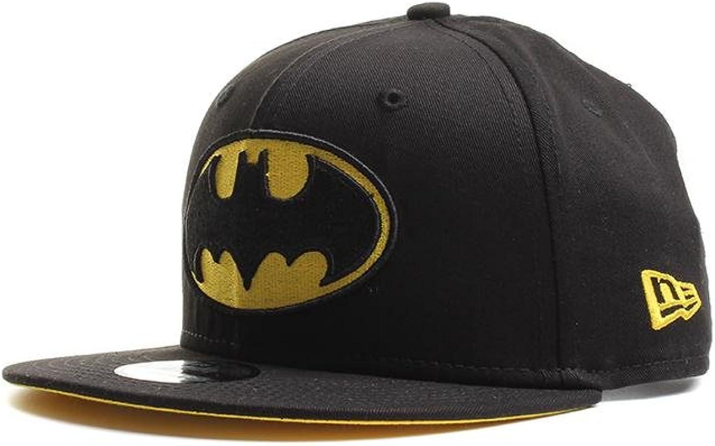 New Era Team Classic 9Fifty Kinder Snapback Cap Batman Schwarz