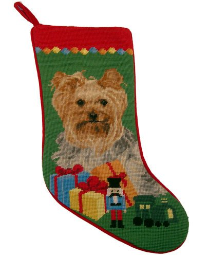 Yorkshire Terrier Christmas Stocking Precious (Yorkshire Stocking Terrier)