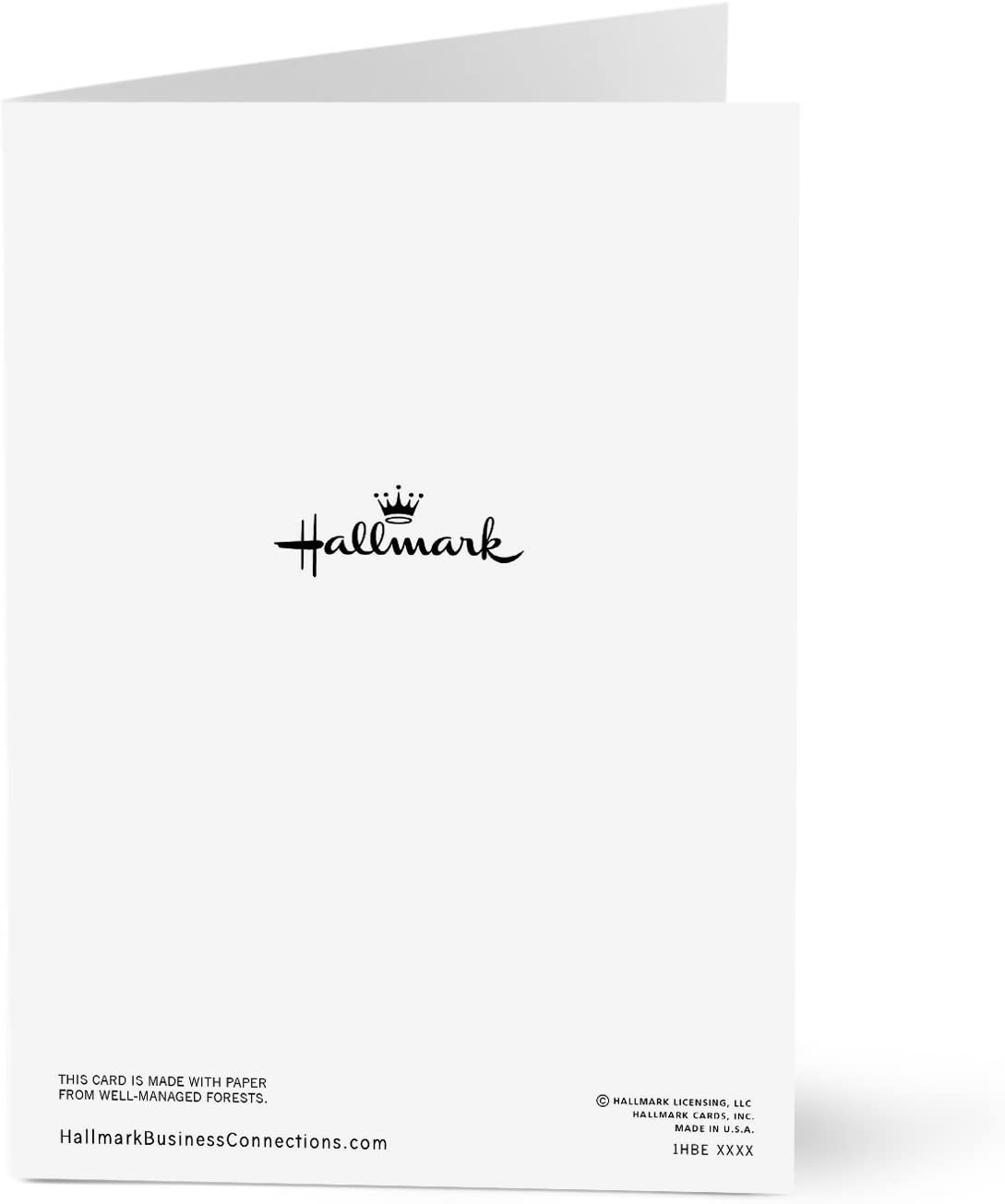 Elegant Work Anniversary Hallmark Business Work Anniversary Card Pack of 25 Greeting Cards