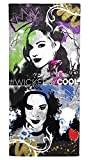 Disney Descendants Wickedly Cool Soft Cotton 28'' x 58'' Bath, Pool, Beach Towel