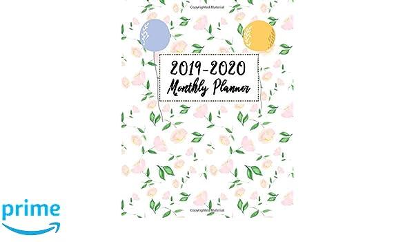 December Calendar 2020 With Goals 2019 2020 Monthly Planner: 24 Months Calendar Jan 2019 to Dec 2020