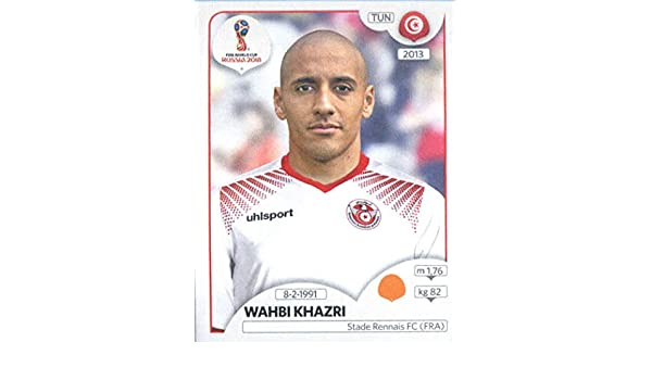 0c02b481dc2 Amazon.com: 2018 Panini World Cup Stickers Russia #562 Wahbi Khazri Tunisia  Soccer Sticker: Collectibles & Fine Art