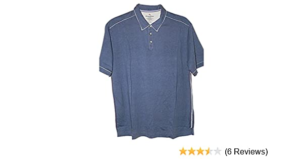 fe8fc14b6 Tommy Bahama Fray Day Golf Polo Shirt (Color  Chambray Blue (Darker Than  Pic)