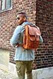 Handmade Bag Wala Genuine Leather Backpack Laptop Bag for Men Women Gift for him her Saddlebags