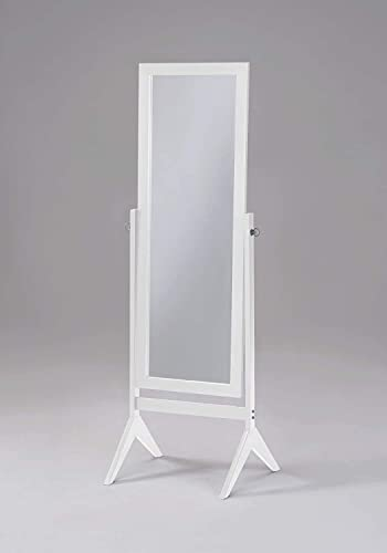 SQF Floor Length Mirror White