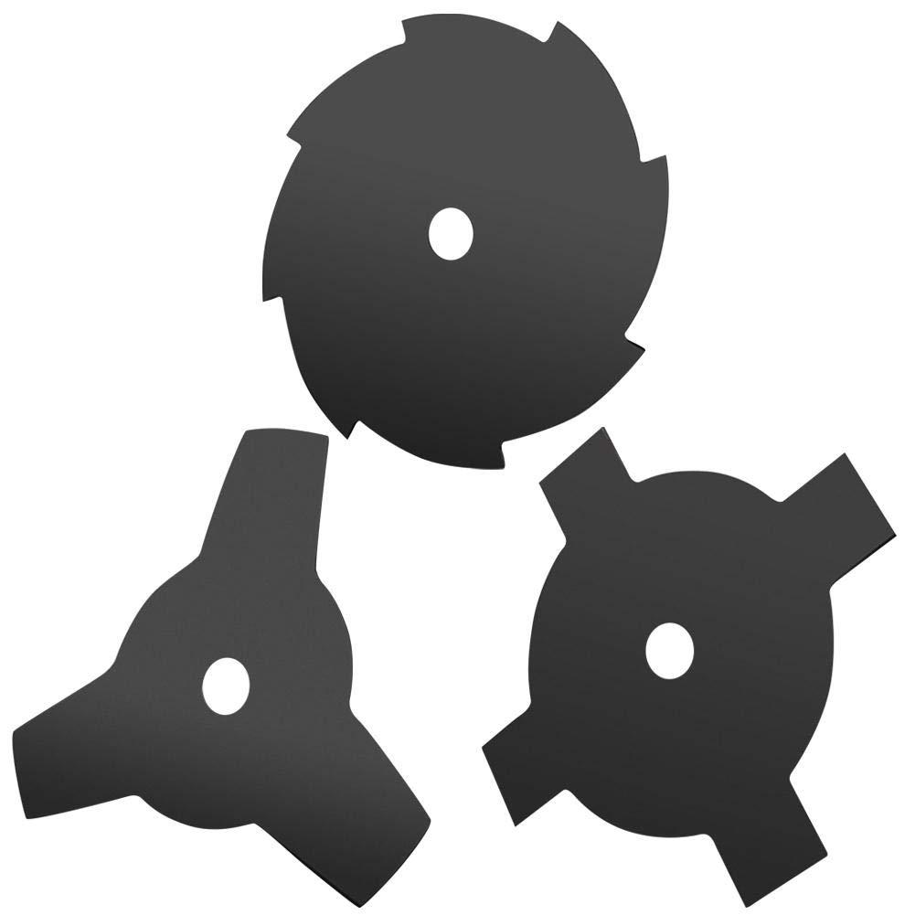 Supertop Unkrautschneider Messerkopf Rasenm/äher Sch/ärfer Trimmerkopf 3//4//8 Z/ähne Stahlklingen Rasierer 65Mn 10Durchmesser Mit 20MM Dorn Waschmaschine Gras Weed Eater Brush Tool