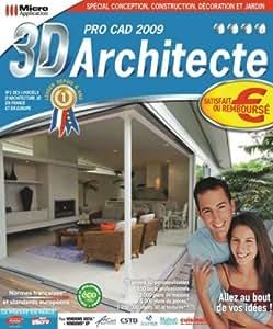 3d architecte pro cad 2009 eleco software for Architecte 3d amazon
