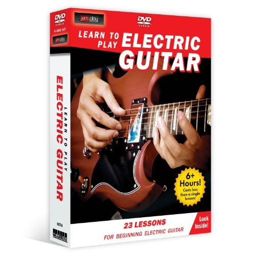 Learn Electric Guitar 4 DVD beginners product image