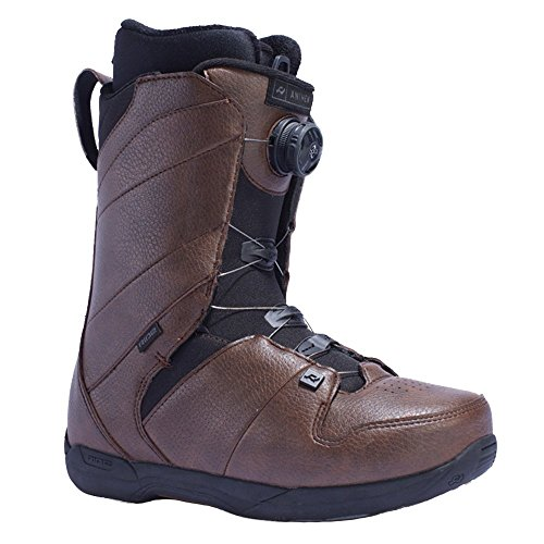 Ride Snowboarding Boots - Ride Men's Anthem: Snowboard Boots (Brown, 8)