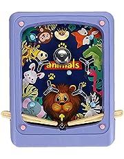 Pinball Toy, Pocket Tabletop Pinball Game Machine, Children's Interactive Educational Toys, Purple