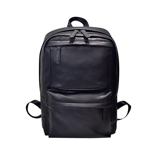 866b41d7bb64 Amazon.com | Unisex Backpack Hosamtel Men Women Leather Backpack ...