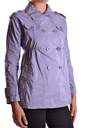 Aspesi Mujer MCBI150156O Morado Poliamida Trench Coat