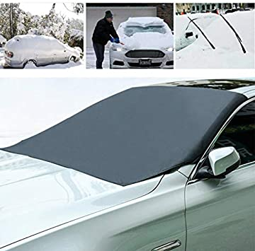 Front Window Sun Shade Dust Shield Car Windshield Protector Auto Visor Cover