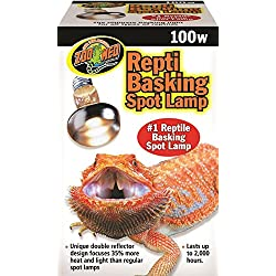 Zoo Med Repti Basking Spot Lamp 100watt for Reptiles