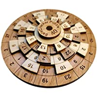 Safecracker 40 Wood Math Puzzle Crack the Code and Solve This Brain Teaser