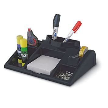 Bürobedarf ablagesysteme  Schreibtisch-Organizer Ablagesystem Schwarz: Amazon.de: Bürobedarf ...
