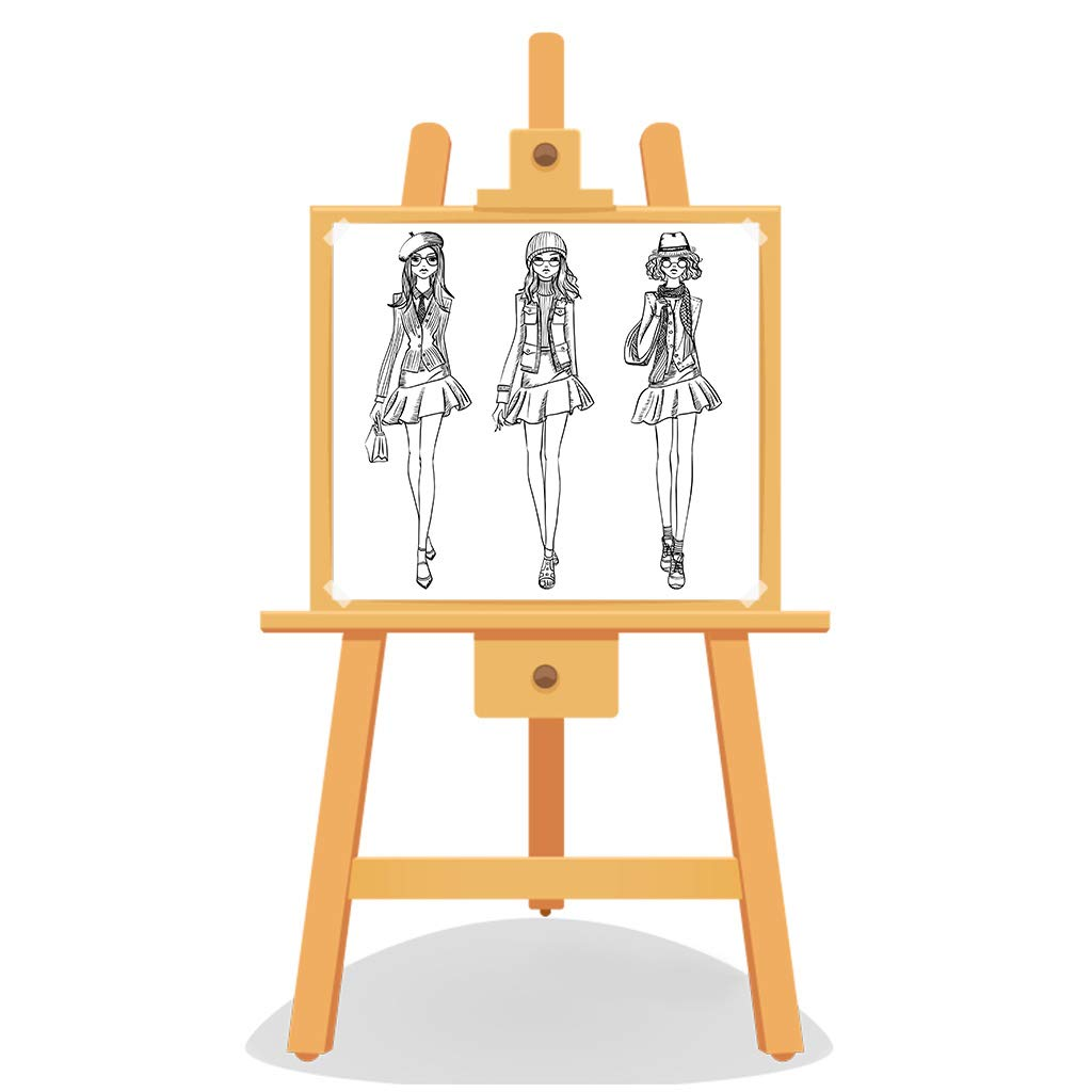 Lunji Sello Claro De Mujer De Moda Para Scrapbooking Goma De Silicona Transparente Decoraci/ón De /álbum De Fotos DIY