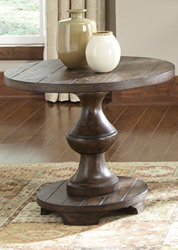 Liberty Furniture INDUSTRIES 231-OT1020 Sedona Occasional End Table, Kona Brown Finish