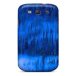 Protective Tpu Case With Fashion Design For Galaxy S3 (mistaya Valley Banff Np Canada)