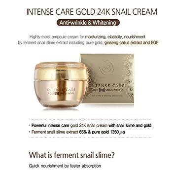 Intense Care Gold 24K Snail Cream Face Cream 45ml – Alluring Lashes