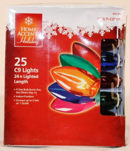 Light Transparent Multi color Christmas String product image