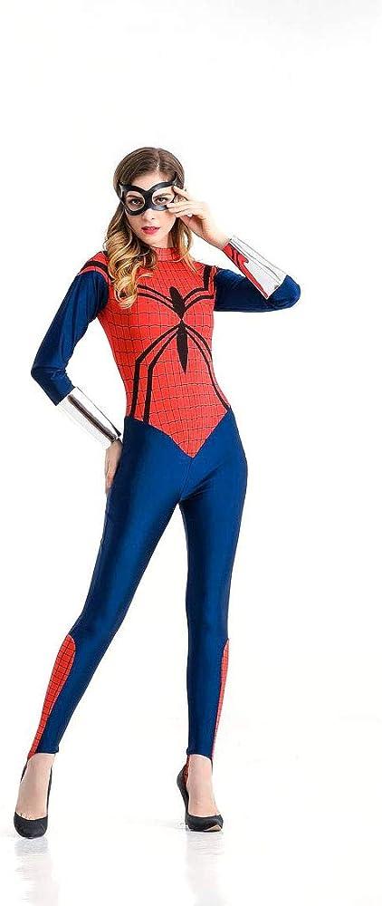 Disfraz De Halloween Adulto Cosplay Spiderman Superwoman Disfraz ...