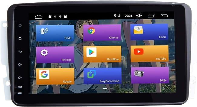 BOOYES para Mercedes Benz A-W168 C-W203 Android 10.0 Radio de ...