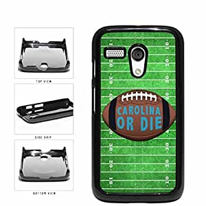 Carolina or Die Football Field Plastic Phone Case Back Cover Moto G