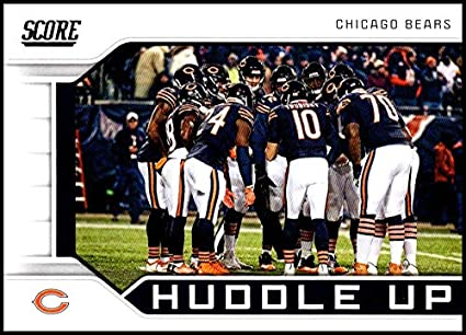 huge selection of b919d 5b82b Amazon.com: 2019 Score NFL Huddle Up #8 Chicago Bears ...