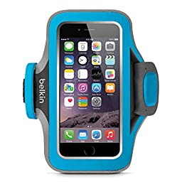 Belkin Slim-Fit Plus Armband for iPhone 6 / 6s, Fitbit Alta, Fitbit Blaze and Fitbit Charge HR (Topaz)