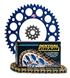 Renthal Ultralight Front & Rear Sprockets & R1 MX Works C...