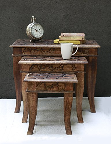 Queen Anne Oval End Table - 6