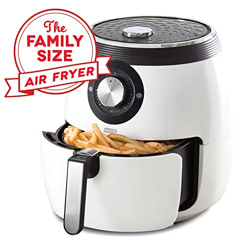Dash DFAF455GBWH01 Deluxe Electric Air Fryer