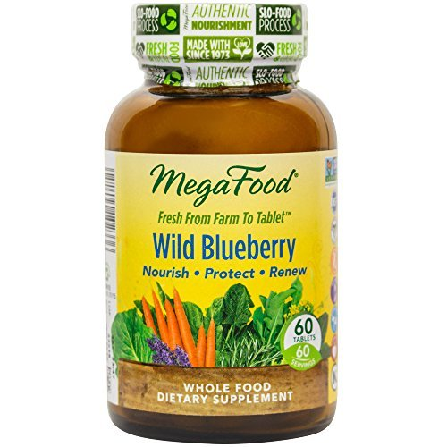(Megafood, Wild Blueberry, 60 Count)