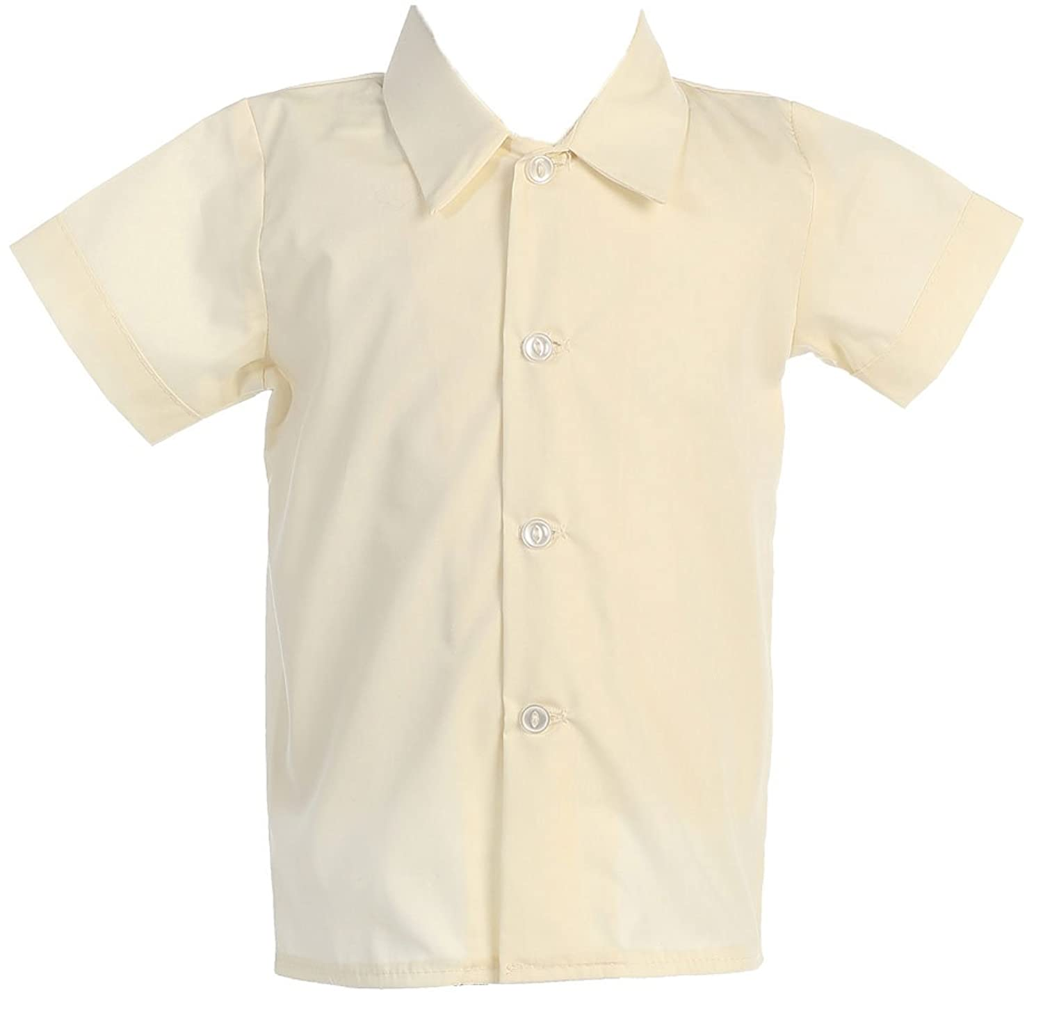 Amazon.com: Lito Baby-boys Short Sleeved Dress Shirt: Infant And ...