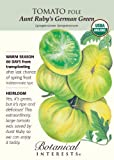Tomato Aunt Ruby's German Green Certified Organic Heirloom Seeds 20 Seeds