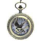 (US) HG Antique Effect Watch Pendant Necklace