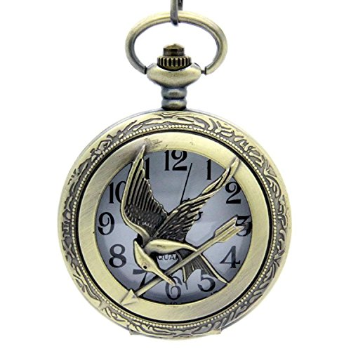 HG Antique Effect Watch Pendant Necklace from Graceful Goods
