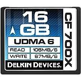 Delkin DDCF700-16GB 16GB CF 700X Memory Card