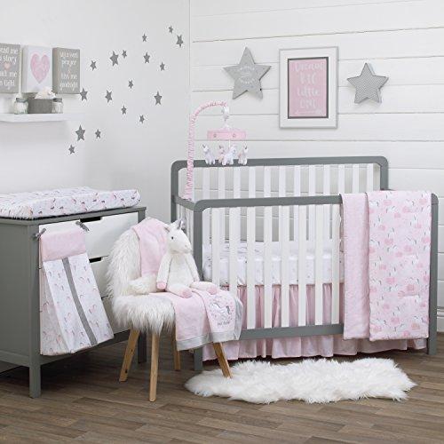 NoJo Unicorn 4 Piece Crib Bedding Set