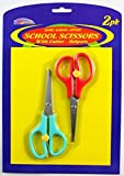 2PK 5 1/2'' School Scissors Set (Pack Of 72)