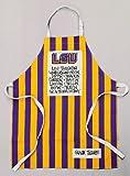 Magnolia Lane Louisiana State University LSU Tigers Apron