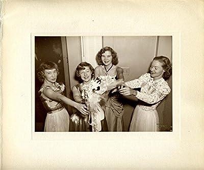 Paul Gittings F.R.P.S Photograph of Women Catching a Wedding Bouquet