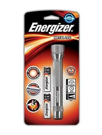 Energizer ENVALUET06 - Linterna (Metal ., LED ., R6/AA/Penlite/Mignon .)