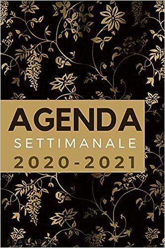 Agenda Settimanale 2020 2021 Meravigliosa Agenda Settimanale Piccola Formato A5 In Italiano Agenda Donna Italian Edition Book Smart 9798662661943 Amazon Com Books