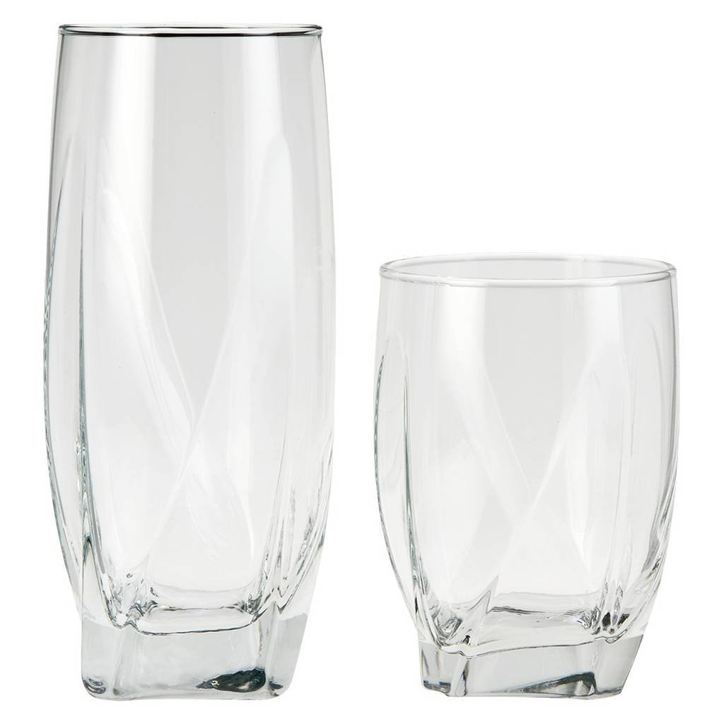 Threshold™ Ridley Glass Tumblers Set of 12 - Clear