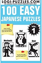 100 Easy Japanese Puzzles (Volume 1) Paperback