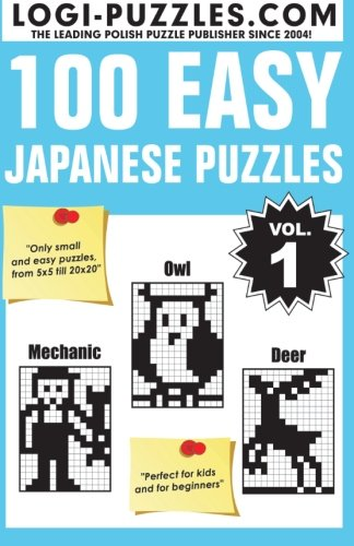 100 Easy Japanese Puzzles (Volume 1)