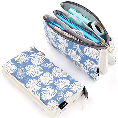 (EASTHILL Big Capacity Pencil Pen Case Office College School Large Storage High Capacity Bag Pouch Holder Box Organizer)