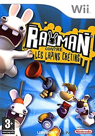 rayman contre les lapins wii
